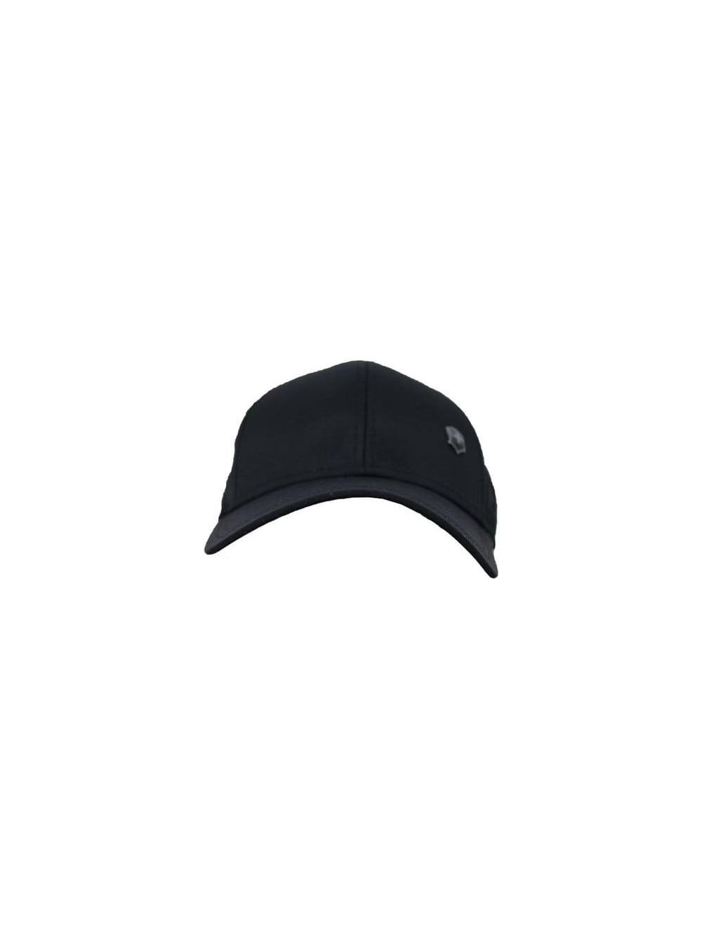 Victorinox Canvas Baseball Cap in Black - Northern Threads 7030282ae36