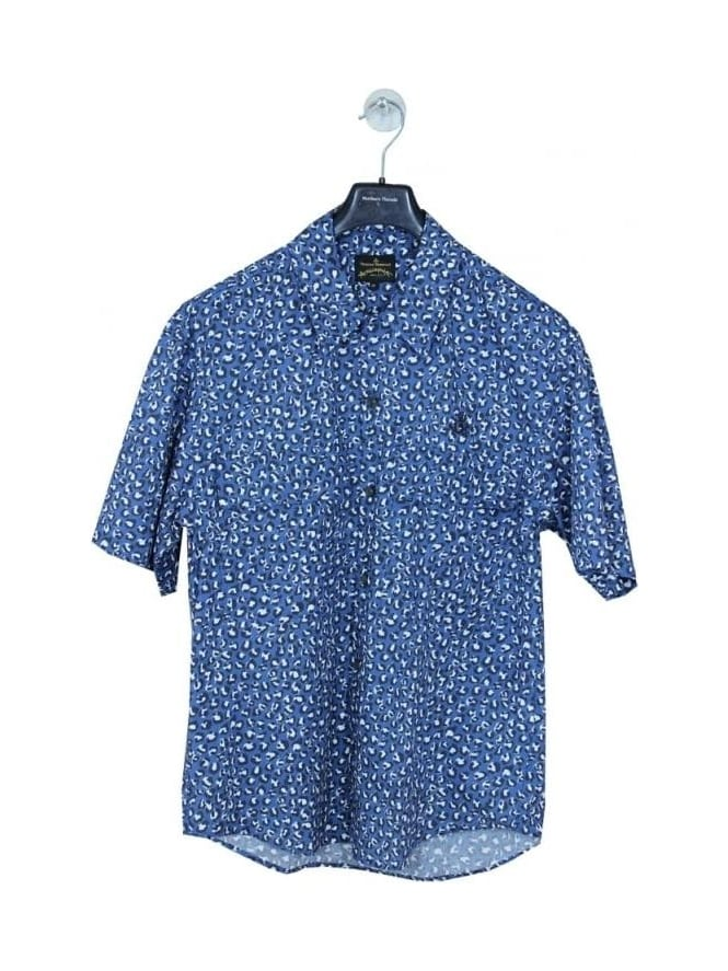 Vivienne Westwood Anglomania Bowling Shirt - Blue