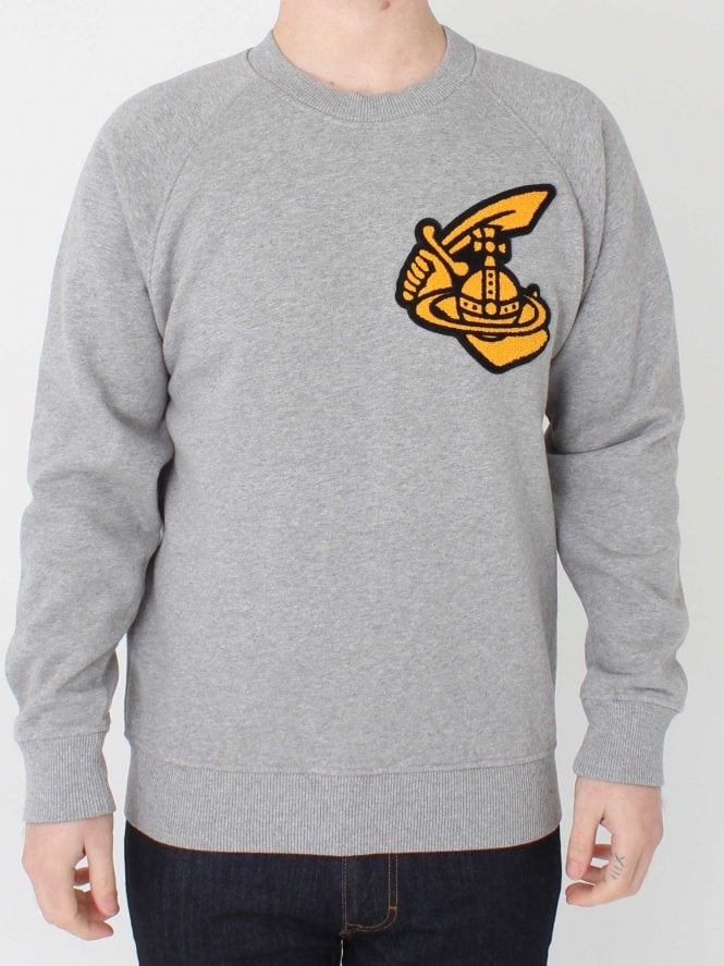 Vivienne Westwood Anglomania Classic Sweat - Grey