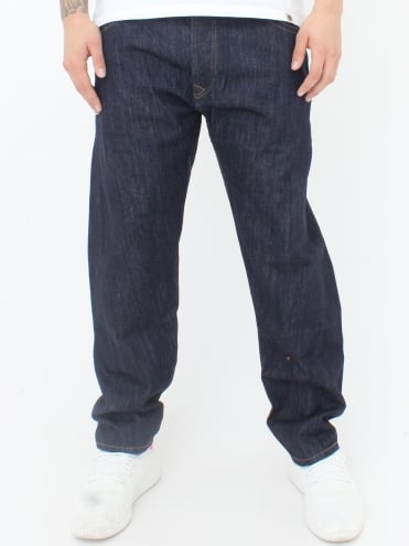 Crow Rinse Jeans - Dark Denim