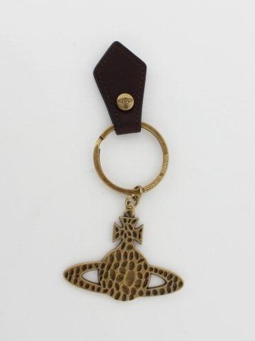 5754de17e1 Gadget Hammered Orb Keyring - Brass 50%. Vivienne Westwood ...