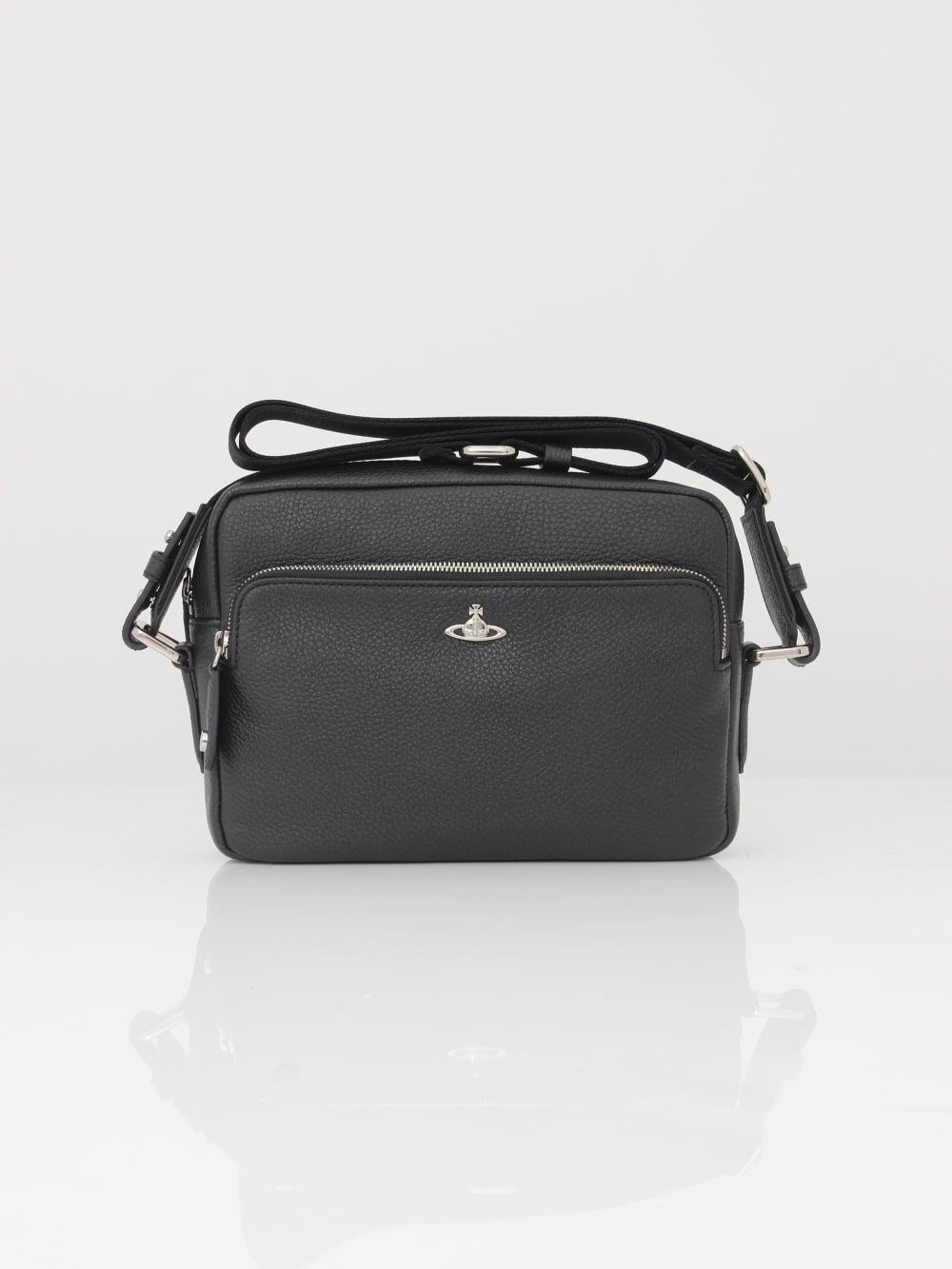 81e5dab9b6a Vivienne Westwood Milano Crossbody Bag in Black - Northern Threads