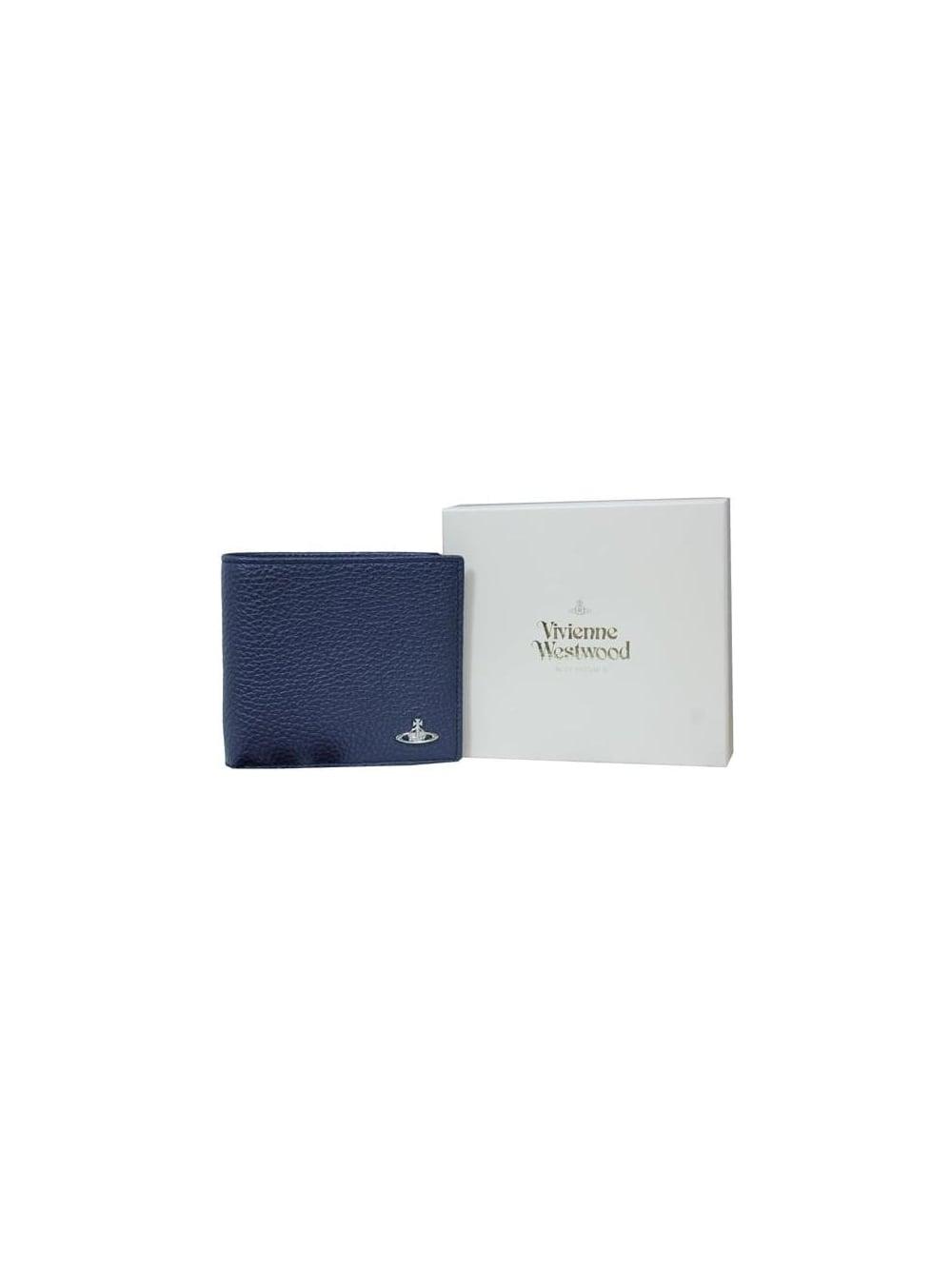e38074c16c7 Vivienne Westwood Milano Wallet & Coin Holder in Blue - Northern Threads