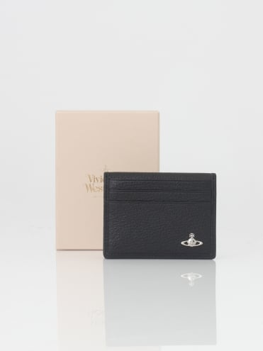 Small Horizontal C/C Wallet - Black