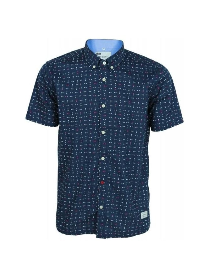 Weekend Offender Category A Chepstow Shirt - Navy